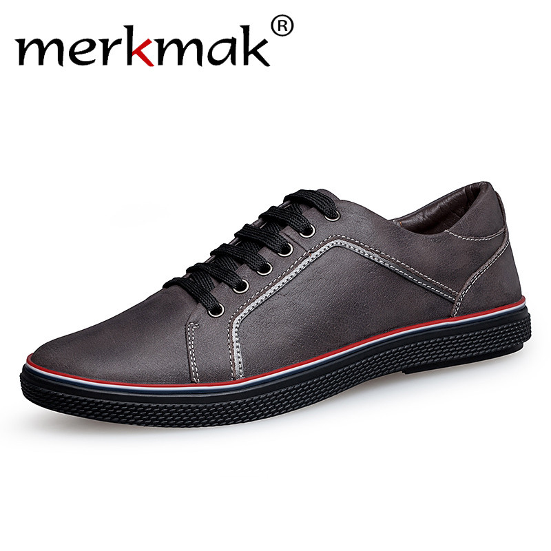 Merkmak Handmade 100% Genuine Leather Mens