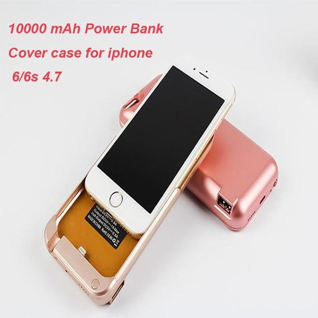 Kailiya Технологии Портативный Беспроводной 10000 мАч Power Bank Крышки Случая Зарядное Устройство Для Apple Iphone 5/5s 6/6 S Plus