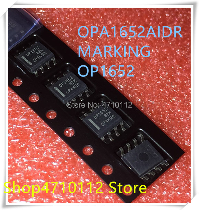 NEW 10PCS/LOT OPA1652 OPA1652A OPA1652AIDR 1652 SOP-8 IC