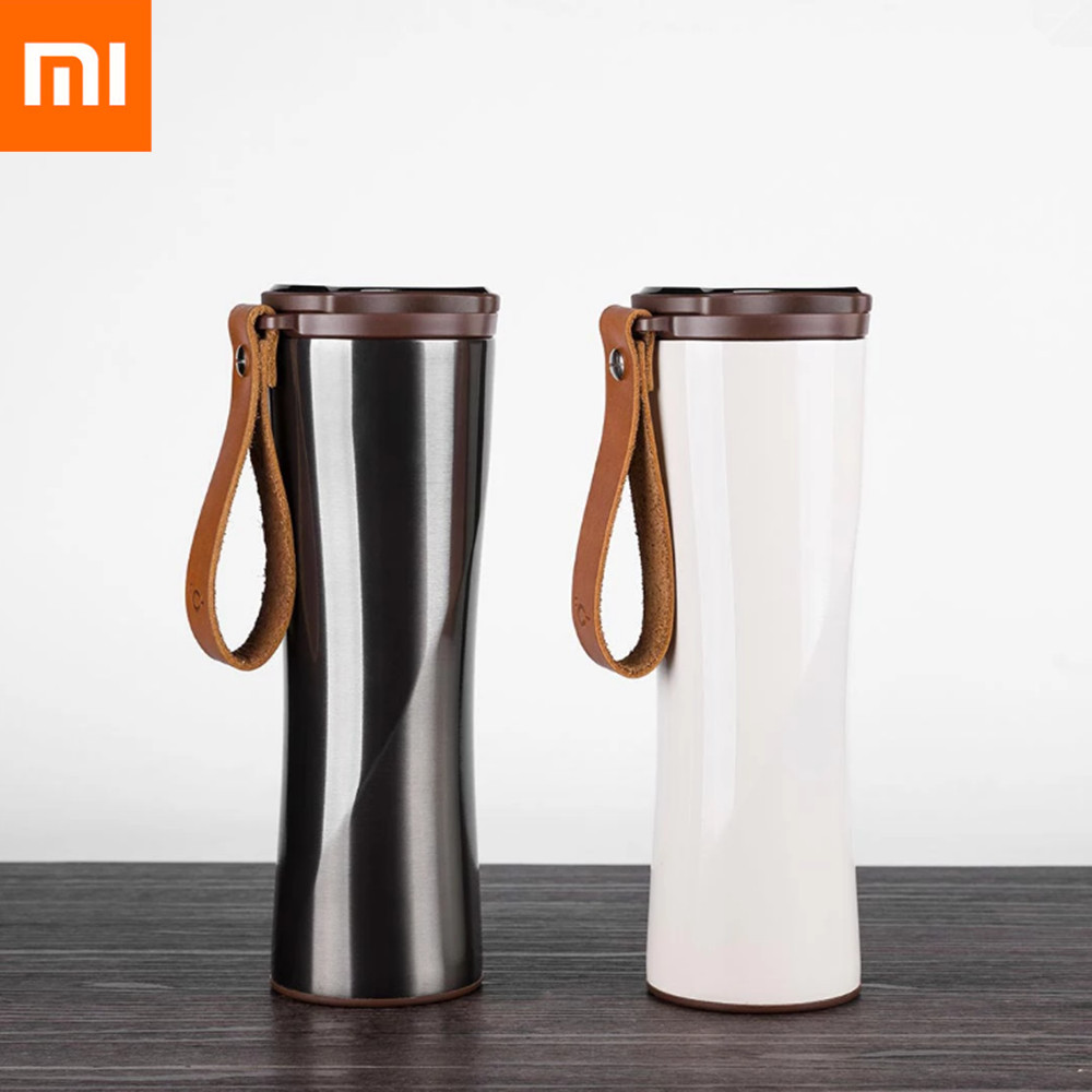Xiaomi Mijia 430ml Hyperbolic Cup Body Stainless Steel Intelligent Thermal Vacuum Water Bottle with OLED Display Screen #3