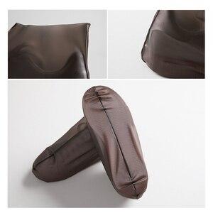 Image 4 - Нескользящие многоразовые Чехлы для обуви из ТПУ водонепроницаемые резиновые сапоги обувь унисекс аксессуары для дождя