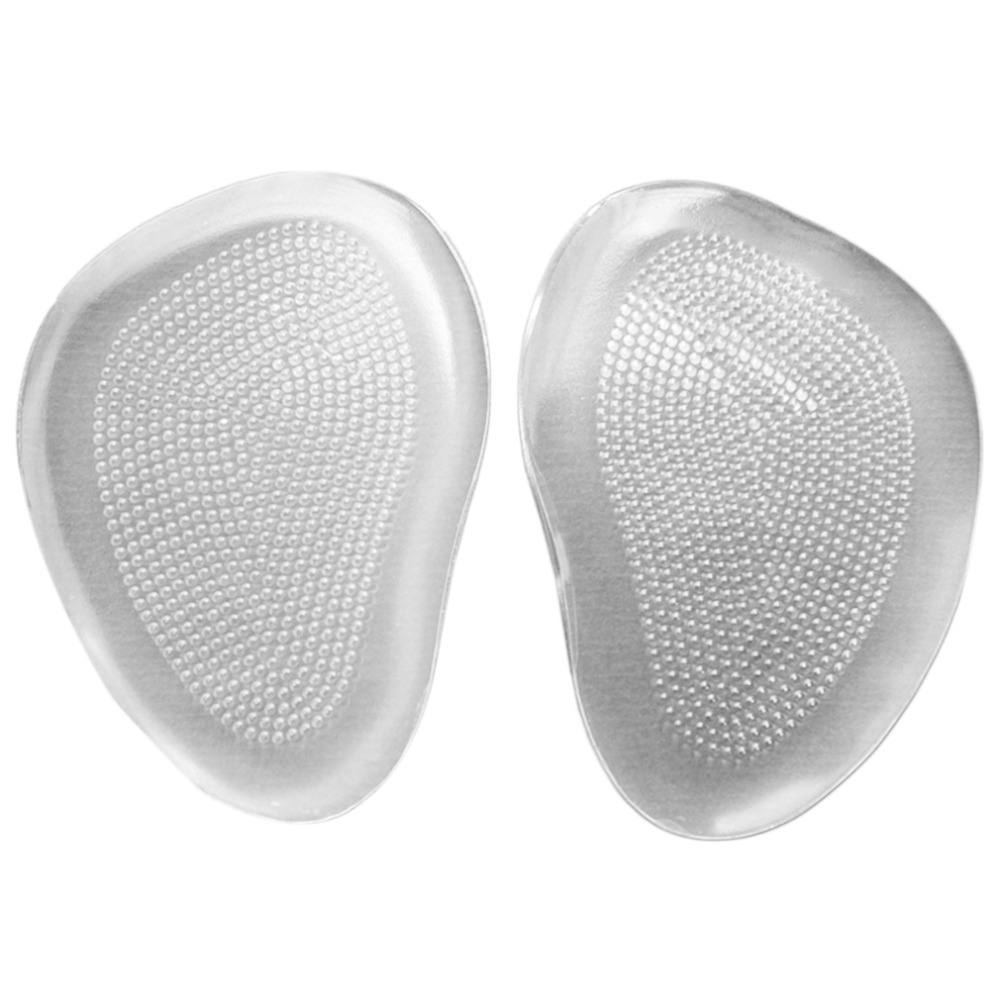 Silicone Gel Ball Foot Cushion Insoles Metatarsal Insert Pad Shoe Transparent New products listed foot massage health care