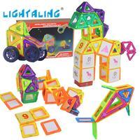 Kids Toys Educational Magnetic Blocks Designer 32 34 37 39Pcs 3D DIY Models Construction Creative Enlighten