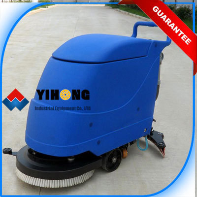 Hand Push Floor Scrubber YHFS Hfloor Cleaning Machinesfloor - Floor scrubers