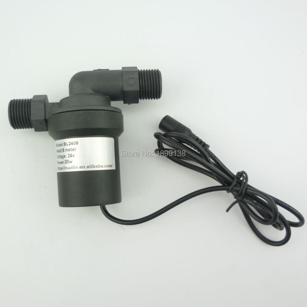 1pcs 18w DC 24 volt 6 meter lift water booster Pump mini brushless Water Pump submersible mini dc motor water pumpdc water pump reorder rate up to 80% 24 volt dc submersible water pump