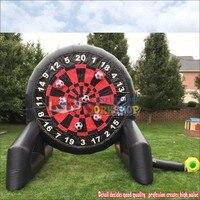 3,6 м/12 футов надувные липкие дротики для метания Карнавальная игра, детский надувной футбольный мяч дартс доска