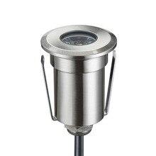 1,5-3 Вт высокой мощности 12 В светодиод низкого напряжения в пол свет напольное освещение 42 мм Диаметр с круглой формы выпрямления в установлен