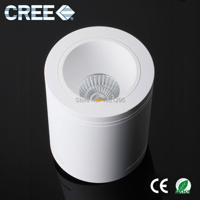 CREE LED Round Surface Mounted Cylinder Plaster Downlight Dimmable COB 7W 9W Plafonnier LED Ceiling Spot.jpg 640x640 Résultat Supérieur 14 Beau Plafonnier Led 12v Stock 2017 Hzt6