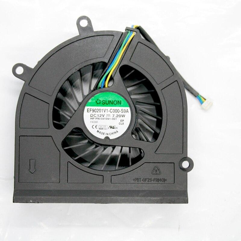 Offizielle Website 2 Stücke Bürstenlose Dc Kühl Gebläse Fan 6015 S 12 V Schwarz Heimwerker