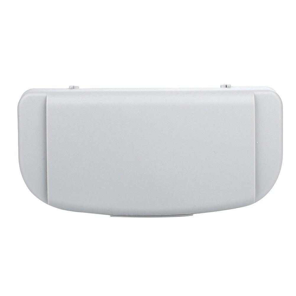 Vehemo Cars солнцезащитные очки коробка для хранения авто запчасти автомобильные очки коробка Солнцезащитная доска очки коробка для хранения очков держатель для карт - Название цвета: gray