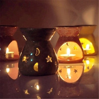 Starry Moonlit Ceramic Japanese Essential Oils In Aromatherapy Furnace Fume Censer Household Craft