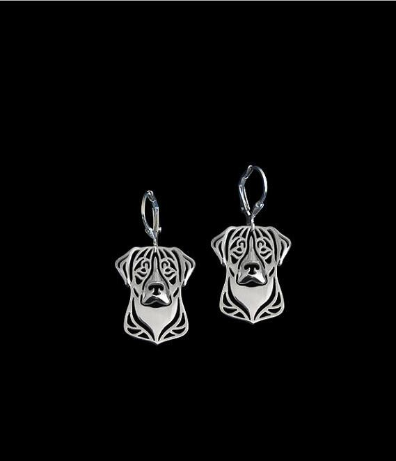 Greater Swiss Mountain Dog Earrings