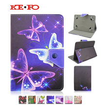 PU Leather Stand Cover Case For GoClever TERRA 101 10.1 inch Universal 10 inch Tablet For Kids+Center Film+pen KF492A