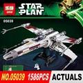 LEPIN NUEVO 05039 1586 unids Star Wars Rojo Cinco x-wing Starfighter Compatible 10240