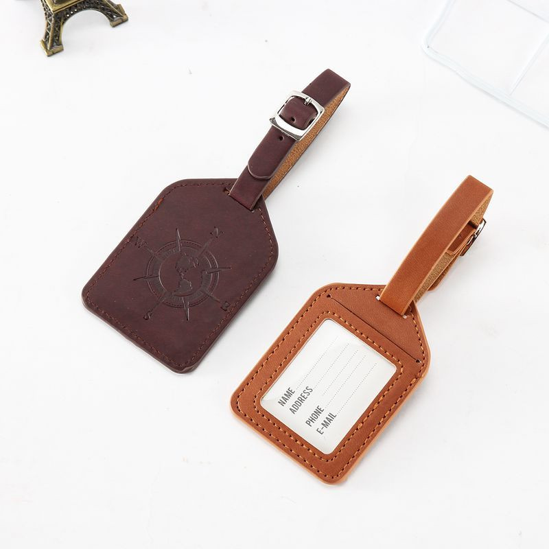 Autism Special Love Luggage Tag Label Travel Bag Label With Privacy Cover Luggage Tag Leather Personalized Suitcase Tag Travel Accessories