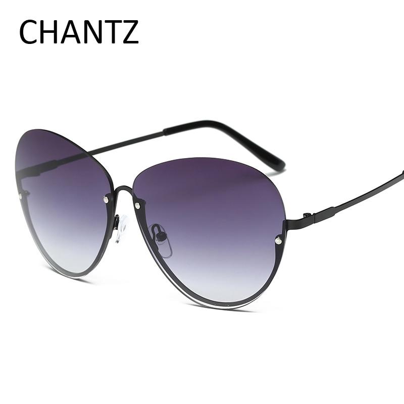 Módní Pánské brýle Metal Cat Eye Reflective Coating Driving Sun Brýle UV400 Lunette Soleil Homme Femme