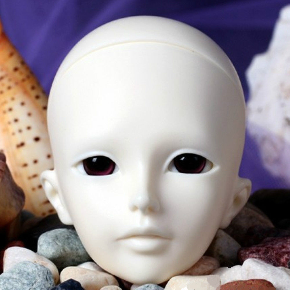 [wamami] AOD 1/4 BJD Dollfie Girl Doll Parts Single Head (Not Include Make-up)~Wan Si 1 3rd 65cm bjd nude doll bianca bjd sd doll girl include face up not include clothes wig shoes and other access