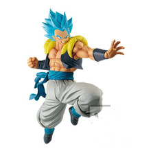 цена на Dragon Ball Z Super Gogeta Toys Action Figure Goku Vegeta Fusion Anime PVC Doll Figurine Collectible Baby Toy Model Gift For Kid