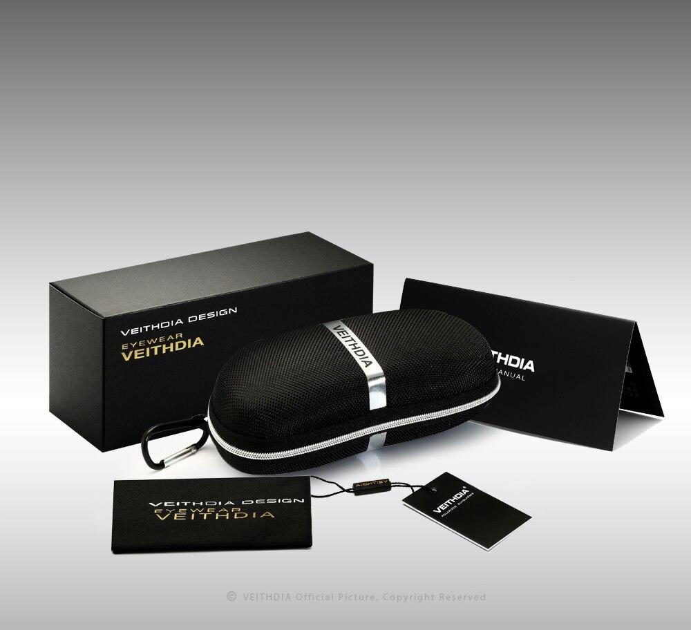 9926ecb333 VEITHDIA Brand Men s Aluminum Magnesium Sun Glasses HD Polarized ...