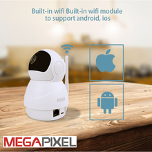 Megapixel CCTV video surveillance security hd 1080p wifi wireless PT home protection camera baby monitor cam 128G  two-way voice