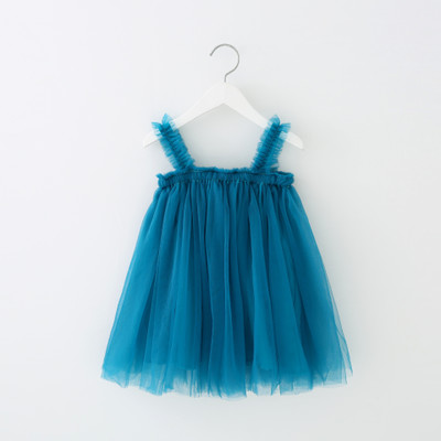 VIDMID Baby Girls summer Dresses Cotton sweet lace Dresses Kids girls vests Clothes children's girls sleeveless clothing 7065 03 4