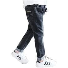 Leggings Boy Winter Children Harem Pants Three-Eight Years Old Baby Boy Pants Fashion Casual Children Denim Pants NZK0080