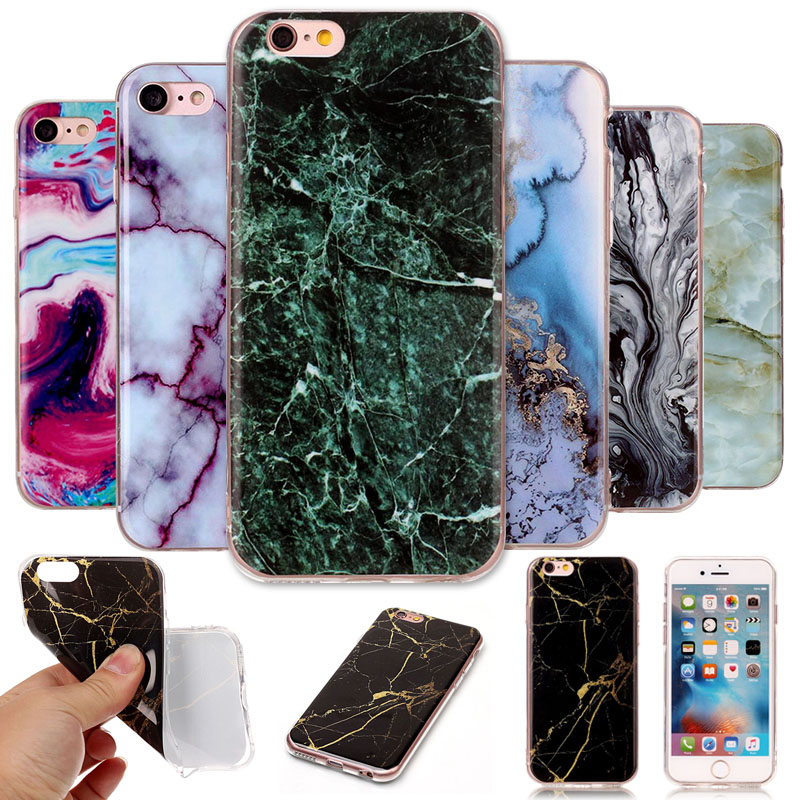 Abstract Painting Silicone Back Cover TPU Soft Case For APPLE iPhone 6 6s plus cell Phon ...