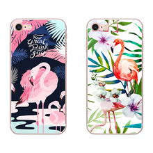 Fashion Flamingos For Apple iPhone 5 5S SE 6 6S 7 8 Plus X XS MAX XR Phone case Soft Silicone TPU case Back Cover Shell цена и фото