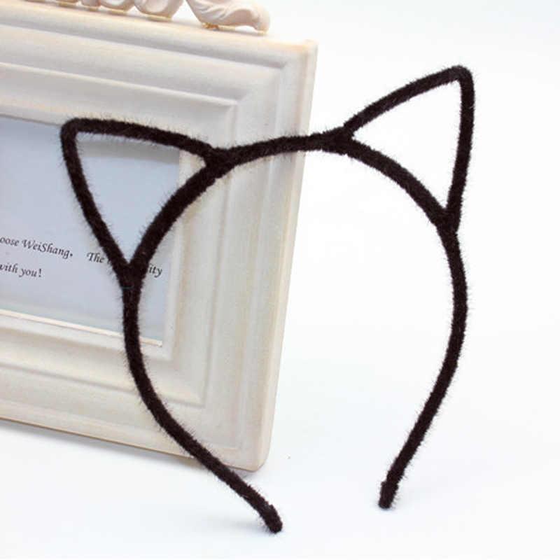 MOONBIFFY Headbands para As Mulheres Colorido Headwear Acessórios Para o Cabelo Olá Kitty Faixa de Cabelo de Orelha