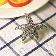 4PCS alloy napkin ring European luxury buckle hotel club table decoration