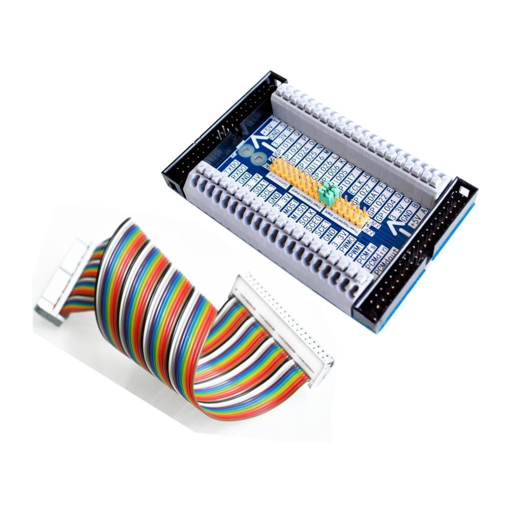 Adaptador de cabo 40pin gpio + raspberry pi 2/3 modelo b multifuncional cascata expansão extensão gpio placa módulo para laranja pi pc|raspberry pi|raspberry pi model bpi model b -