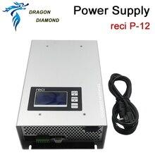 ФОТО 110v 220v co2 laser power supply reci p12 80w 90w for co2 laser tube w1 w2