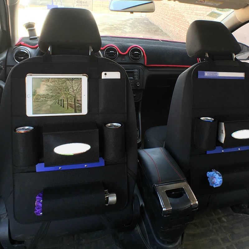 Автомобильная бутылка для сумки на заднее сиденье, органайзер для автомобиля, органайзер для автомобиля, чехол на заднее сиденье, многокарманный держатель M8617