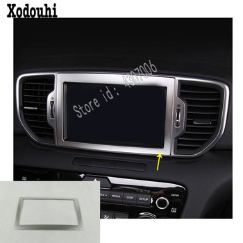 for Kia Sportage KX5 2016 2017 2018 car sticker GPS Console Central control navigation air-condition Volume switch trim frame image