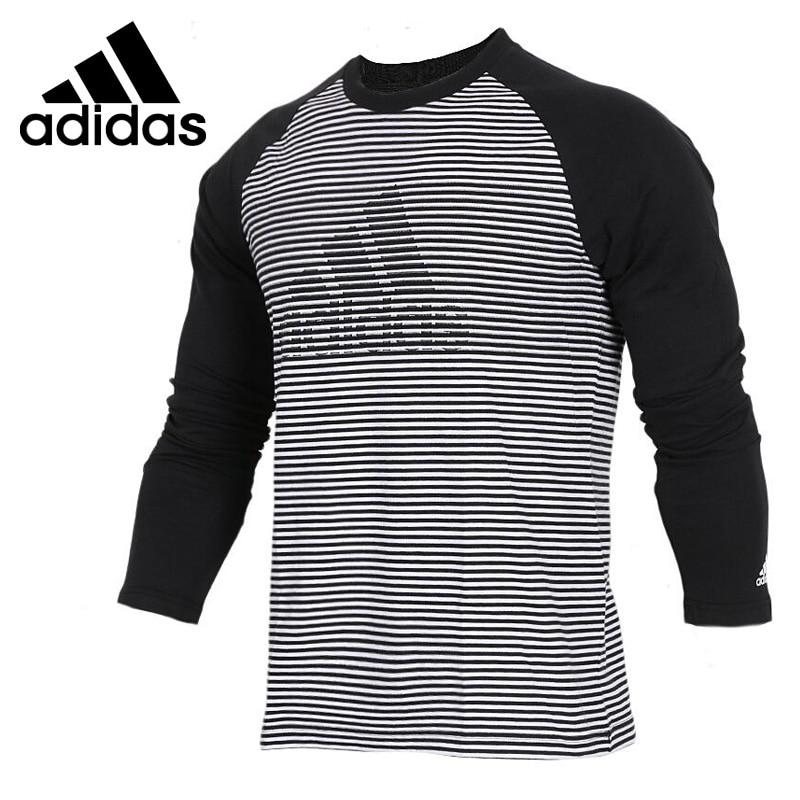 Original New Arrival 2018 Adidas LS T JAQ BRD Men's T-shirts Long sleeve Sportswear new original t