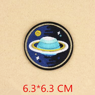 Space Astronaut Iron on Patches