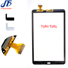 New 10.1 inch For Samsung Galaxy Tab A T585 T580 Touch Screen Digitizer Glass Panel Replacement Parts 10pcs/lot