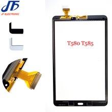 Nieuwe 10.1 inch Voor Samsung Galaxy Tab EEN T585 T580 Touch Screen Digitizer Glass Panel Vervangende Onderdelen 10 stks/partij