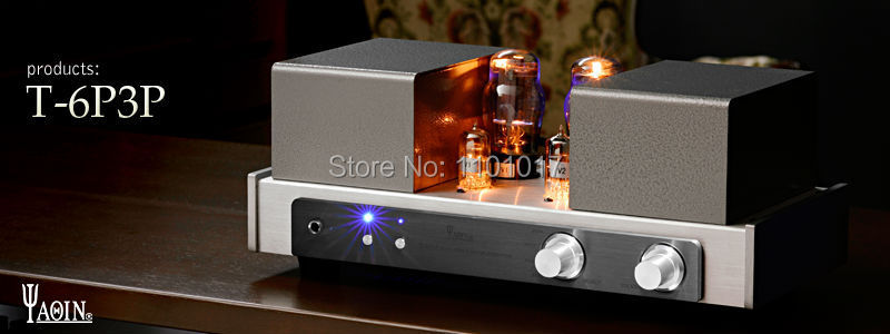 YAQIN T-6P3P Tube Amplifier 6P3P HIFI EXQUIS Integrated Amplifier With Headphone output original 6 5 inch lq065t9br51u lq065t9br53u lq065t9br54u lq065t9br53t for bmw car navigation system lcd screen without touch