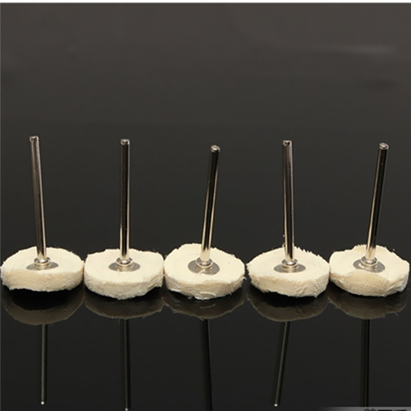 5 ST Doek Polijstschijf Buffer pad Katoen voor Buff Dremel Accessoire voor sieraden mal holte medische apparatuur antiek brons