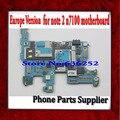 Europa versão desbloqueado & 100% placa principal original para samsung galaxy note 2 n7100 motherboard com chips frete grátis
