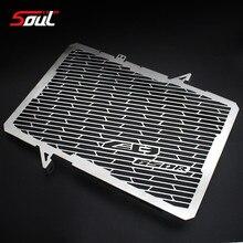 Rejilla de radiador de protector de radiador de motocicleta de acero inoxidable