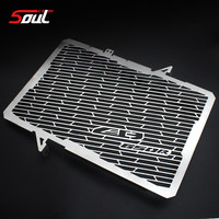 Stainless Steel Motorcycle Radiator Guard Radiator Grille Cover Fits For HONDA CB650R 2019