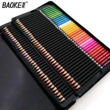 Baoke Colouring Pencil Fine Art Lapis de cor 72 cores Profissional colored pencils Lapis Artist Crayons Sketch Pencils Wholesale