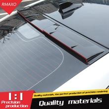Для гаражи Моррис MG6 спойлер на крыше- ABS Материал заднее крыло автомобиля праймер цвет задний спойлер на крышу для MG 6 спойлер