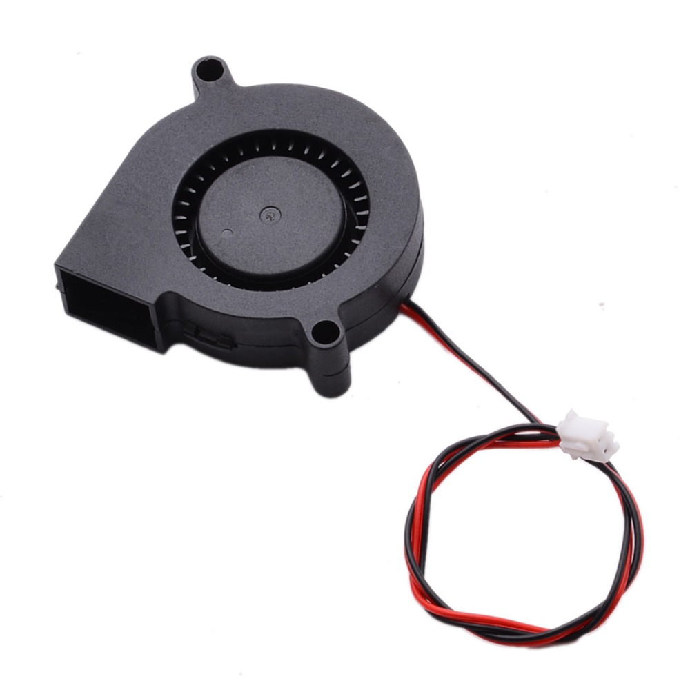 1pc DC Radial Cooling Fan 12V/24V Hot End Extruder Blow Fans 50*15mm Mayitr For 3D Printer Parts