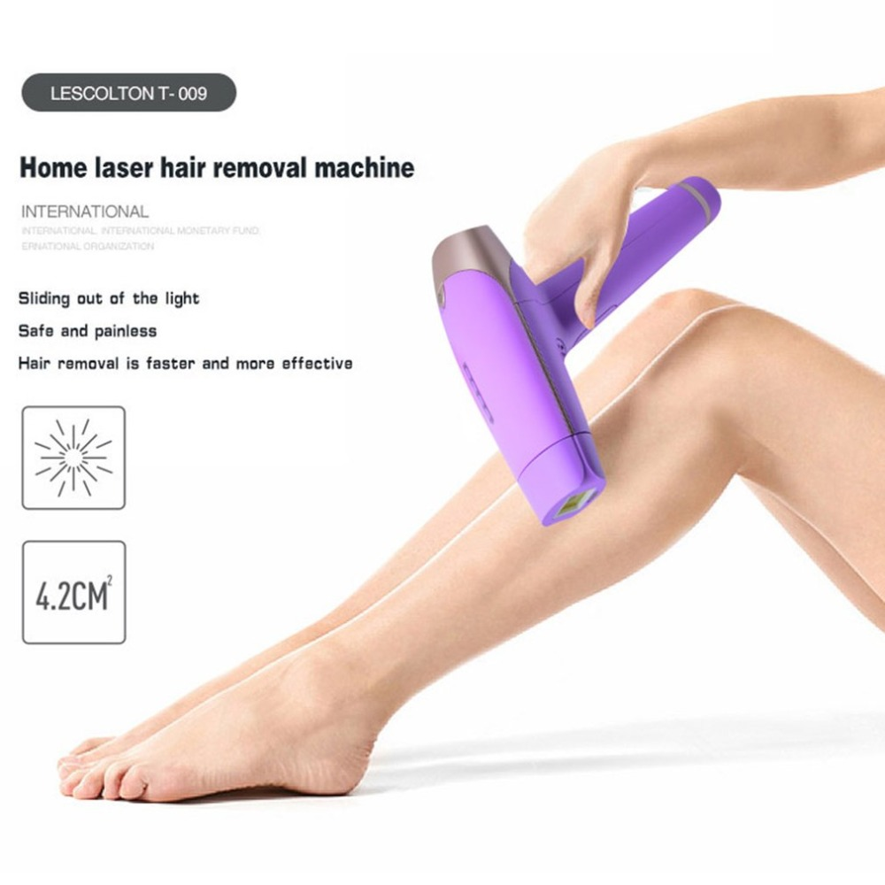 <font><b>LESCOLTON</b></font> T009 Safe Use Razor Face & Body <font><b>Hair</b></font> <font><b>Removal</b></font> Painless <font><b>IPL</b></font> Epilator Home <font><b>Pulsed</b></font> <font><b>Light</b></font> Unisex for Men & Women