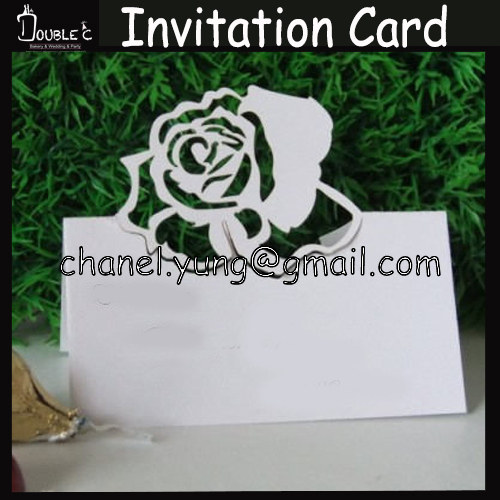 50pcs name place cards wedding invitation names table cardsfavor 50pcs name place cards wedding invitation names table cardsfavorlaser cut rosewedding table decorations paper seating cards in cake decorating supplies stopboris Choice Image