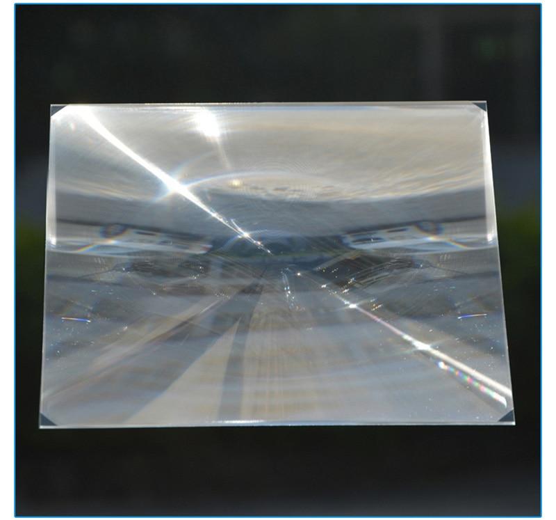 2PC 345mm Square PMMA Plastic LED Fresnel Condensing Lens Solar Energy Focal Length 350mm for Plane Magnifier,Solar concentrator  цены