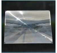 2PC 345mm Square PMMA Plastic LED Fresnel Condensing Lens Solar Energy Focal Length 350mm for Plane Magnifier,Solar concentrator